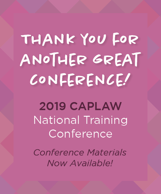 2019 caplaw conference