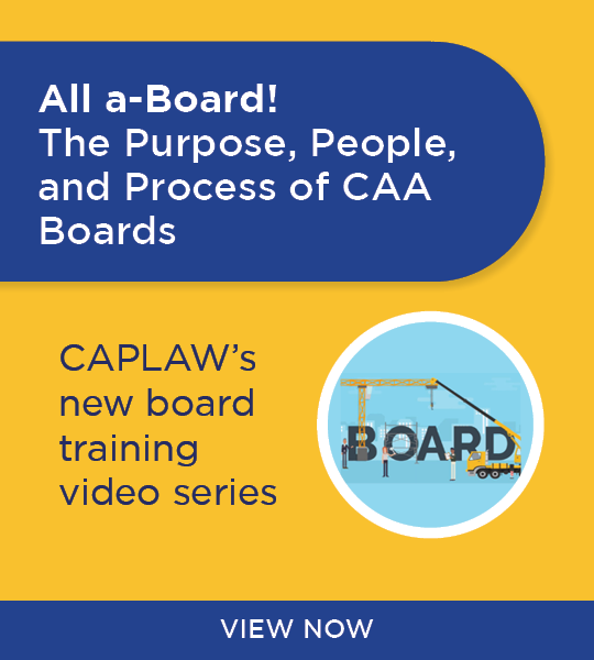 Board Training Videos Webinar