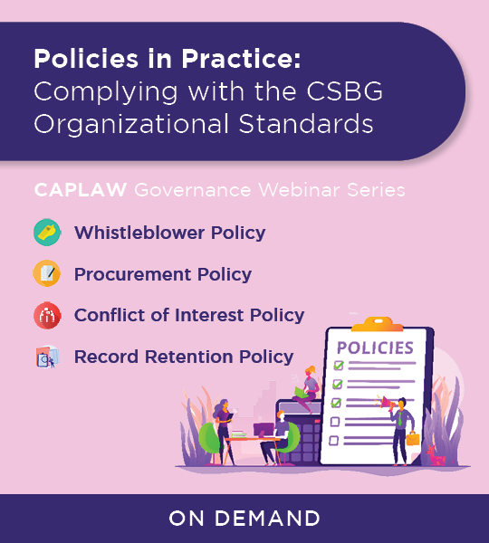 Policies in Practice Webinar Registration